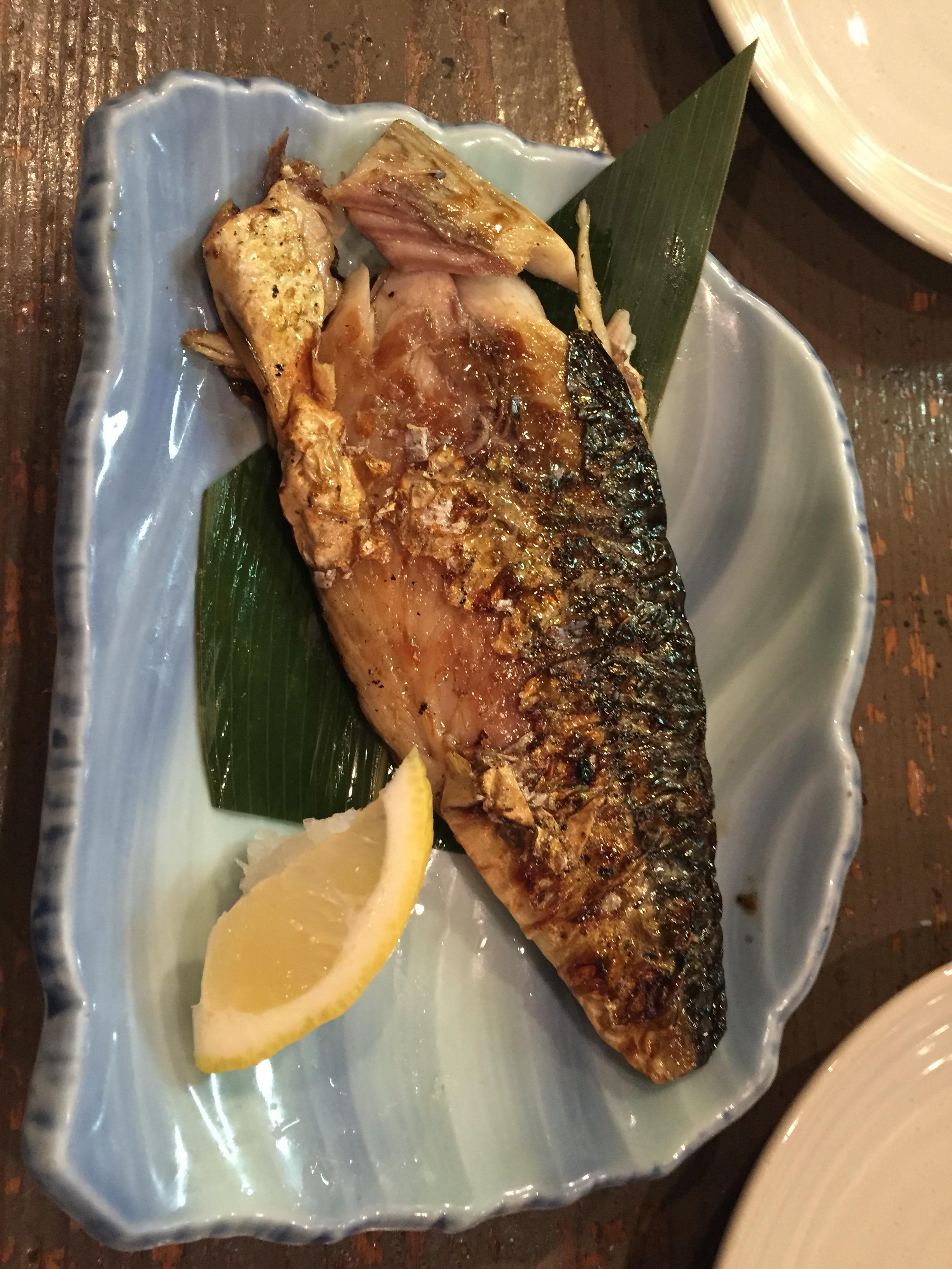 貝原 焼き魚
