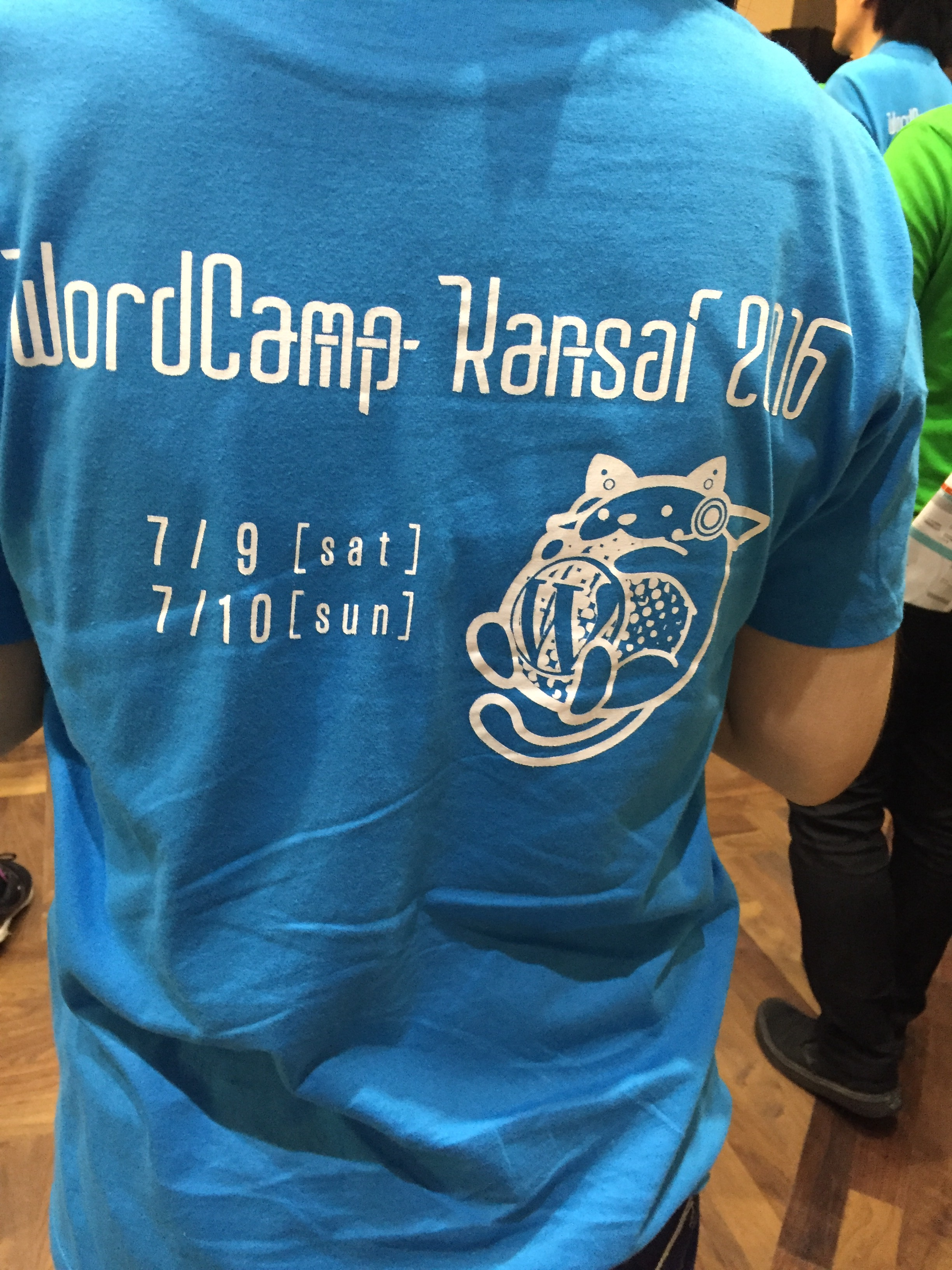 WordCamp Kansai 2016 Tシャツ