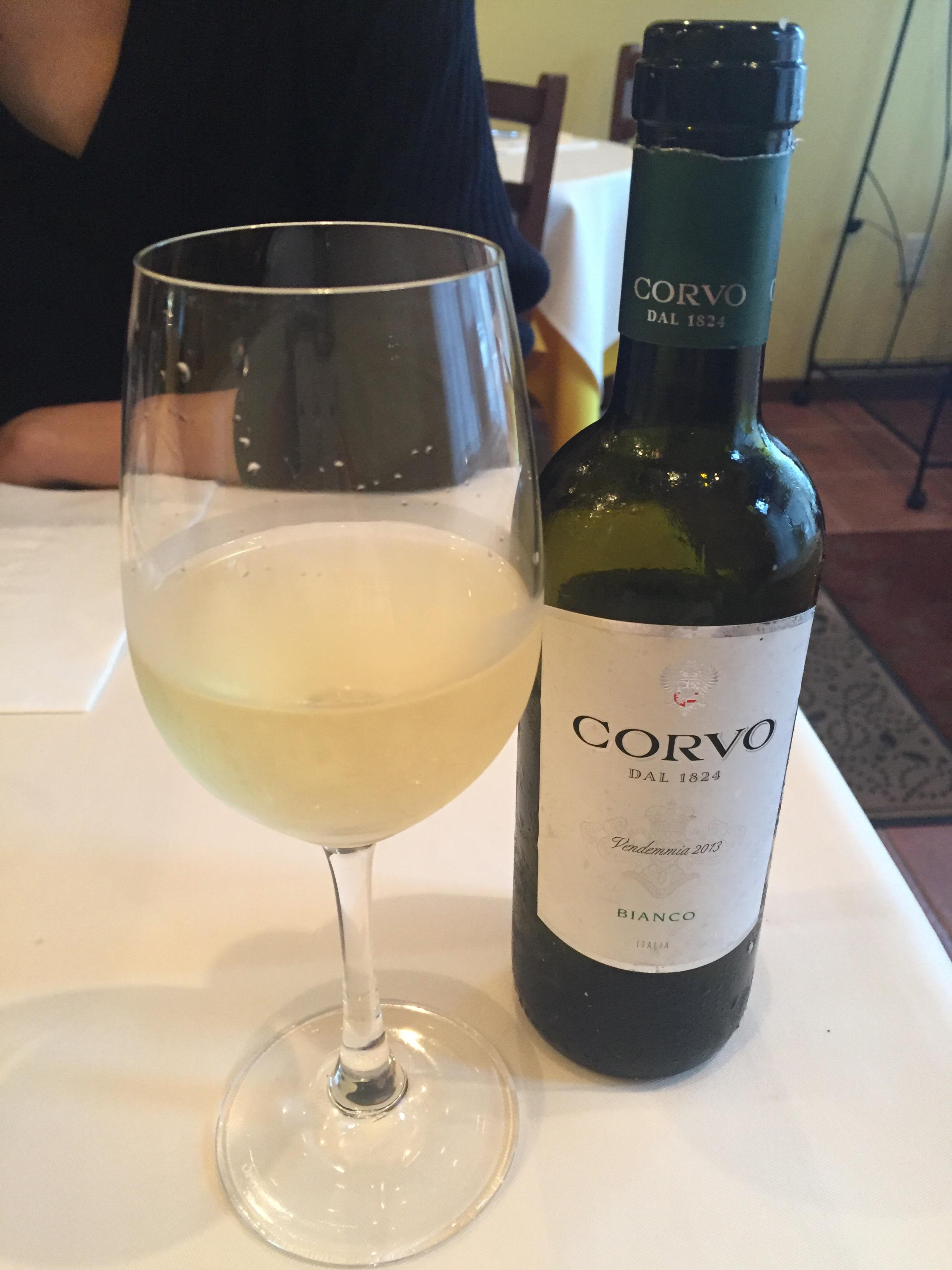 頼んだワイン