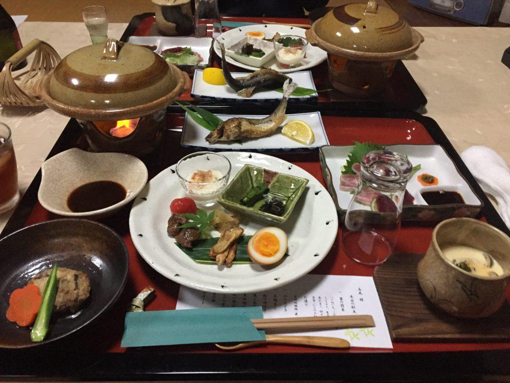 旅館 伊藤 お料理