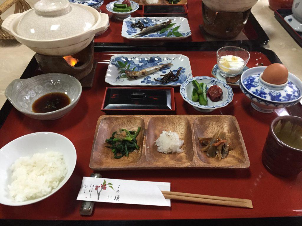 旅館 伊藤 朝食