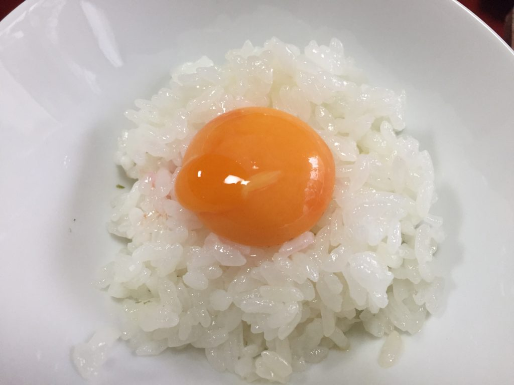 旅館 伊藤 卵かけご飯