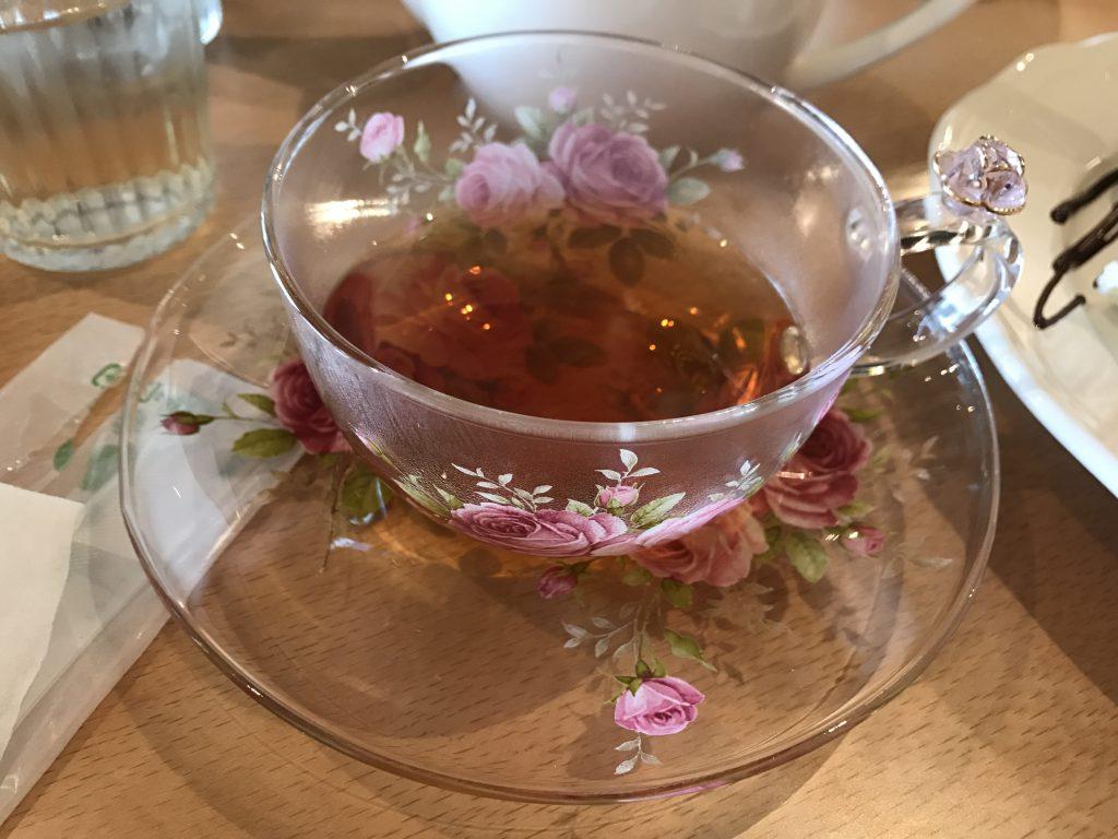クランティールーム 紅茶
