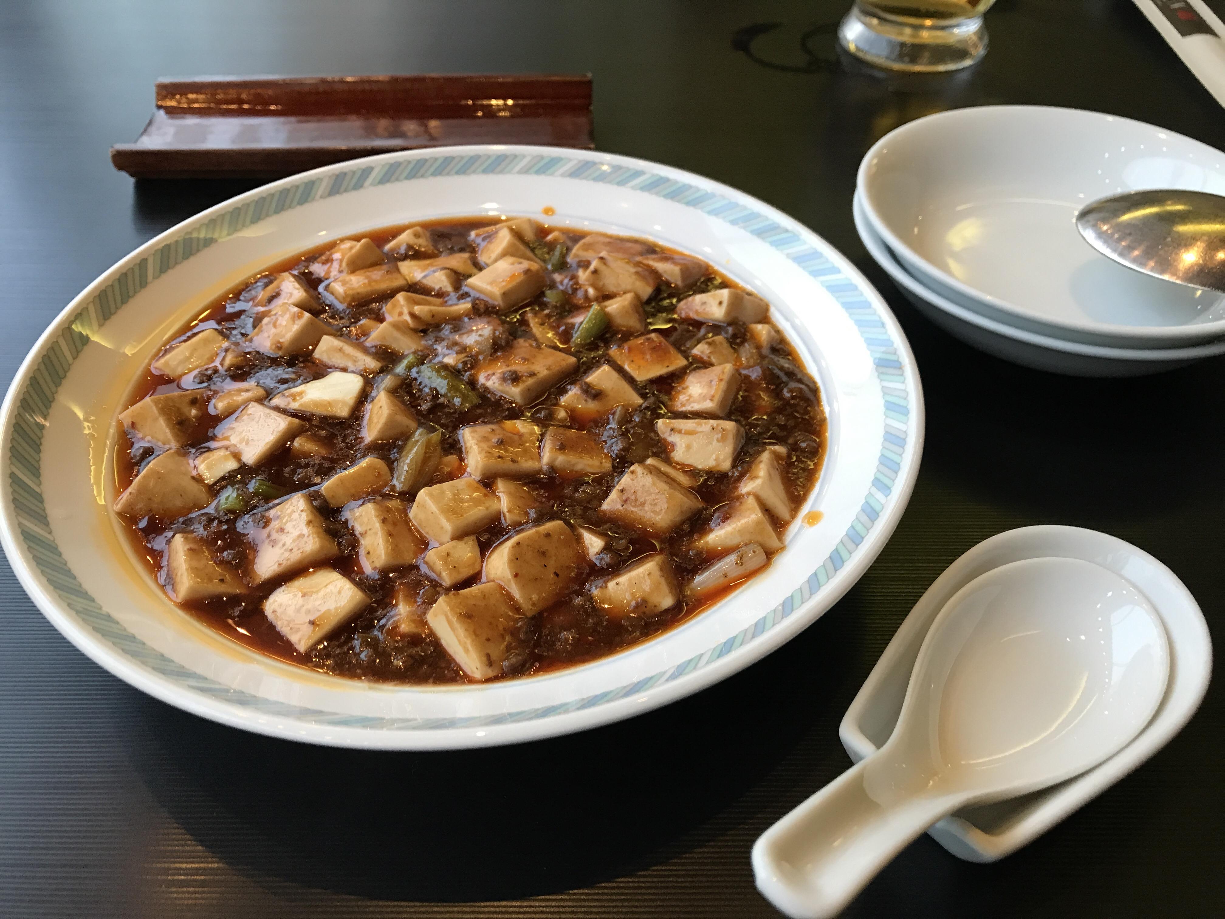 ホテル中華の麻婆豆腐