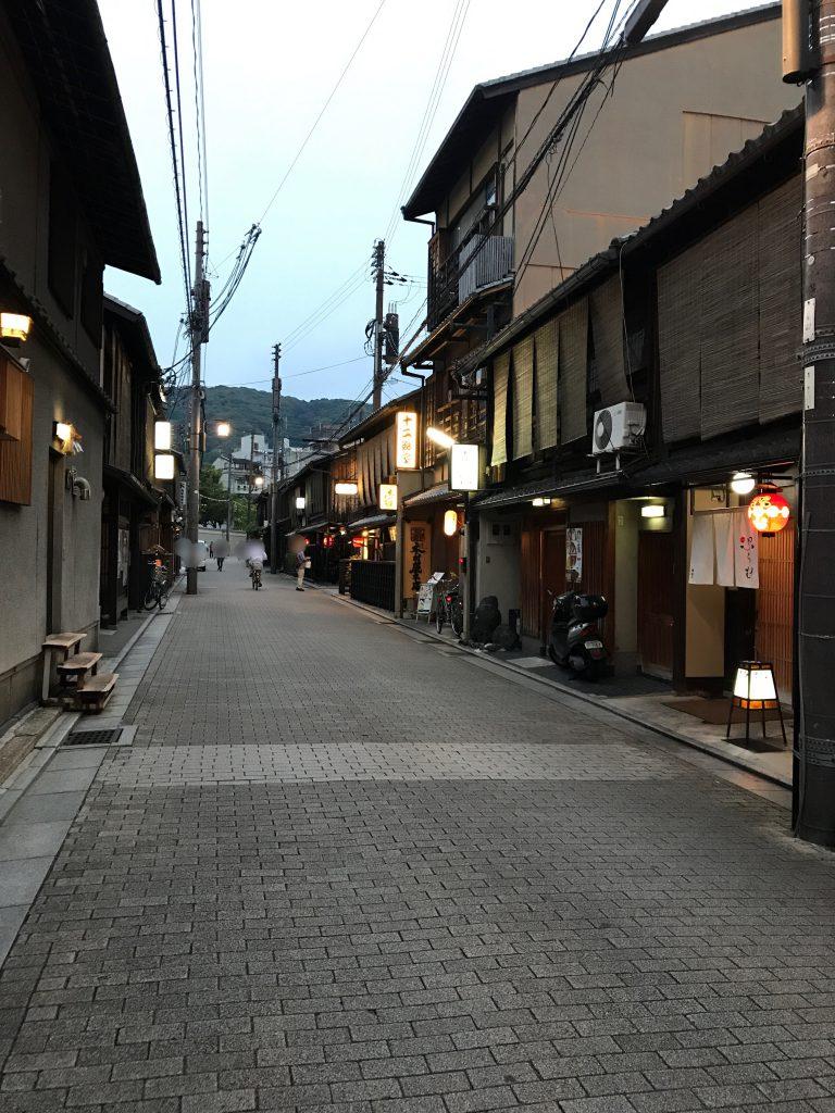 京都 祇園風景