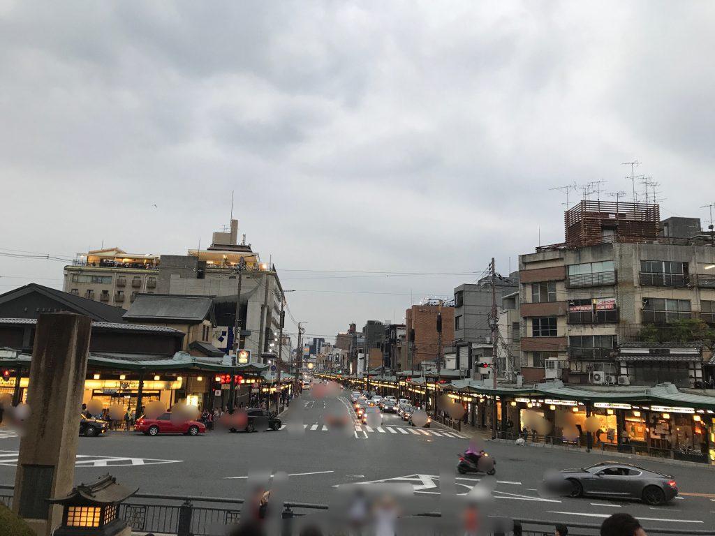 京都 祇園の風景