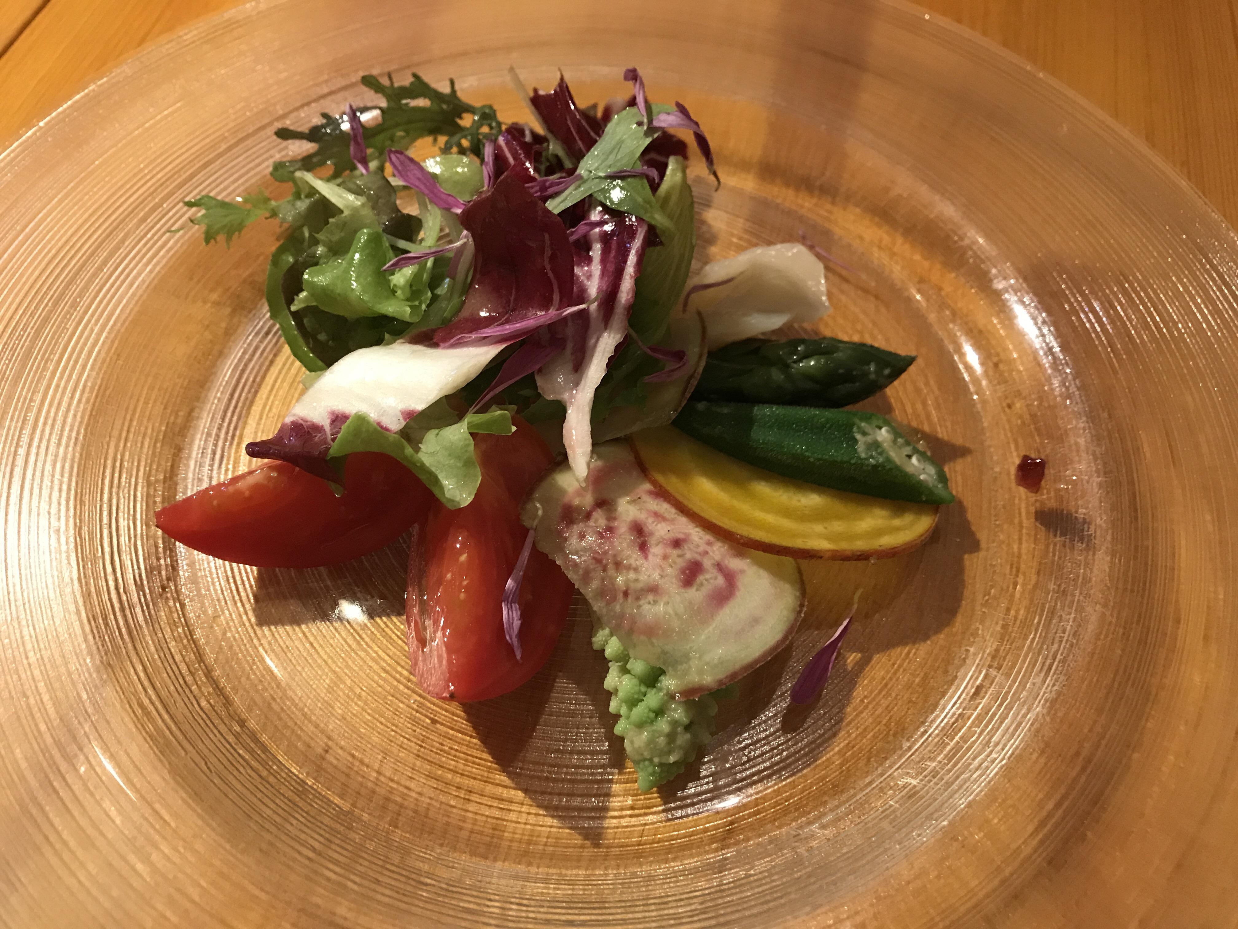 ポチロンの前菜 サラダ