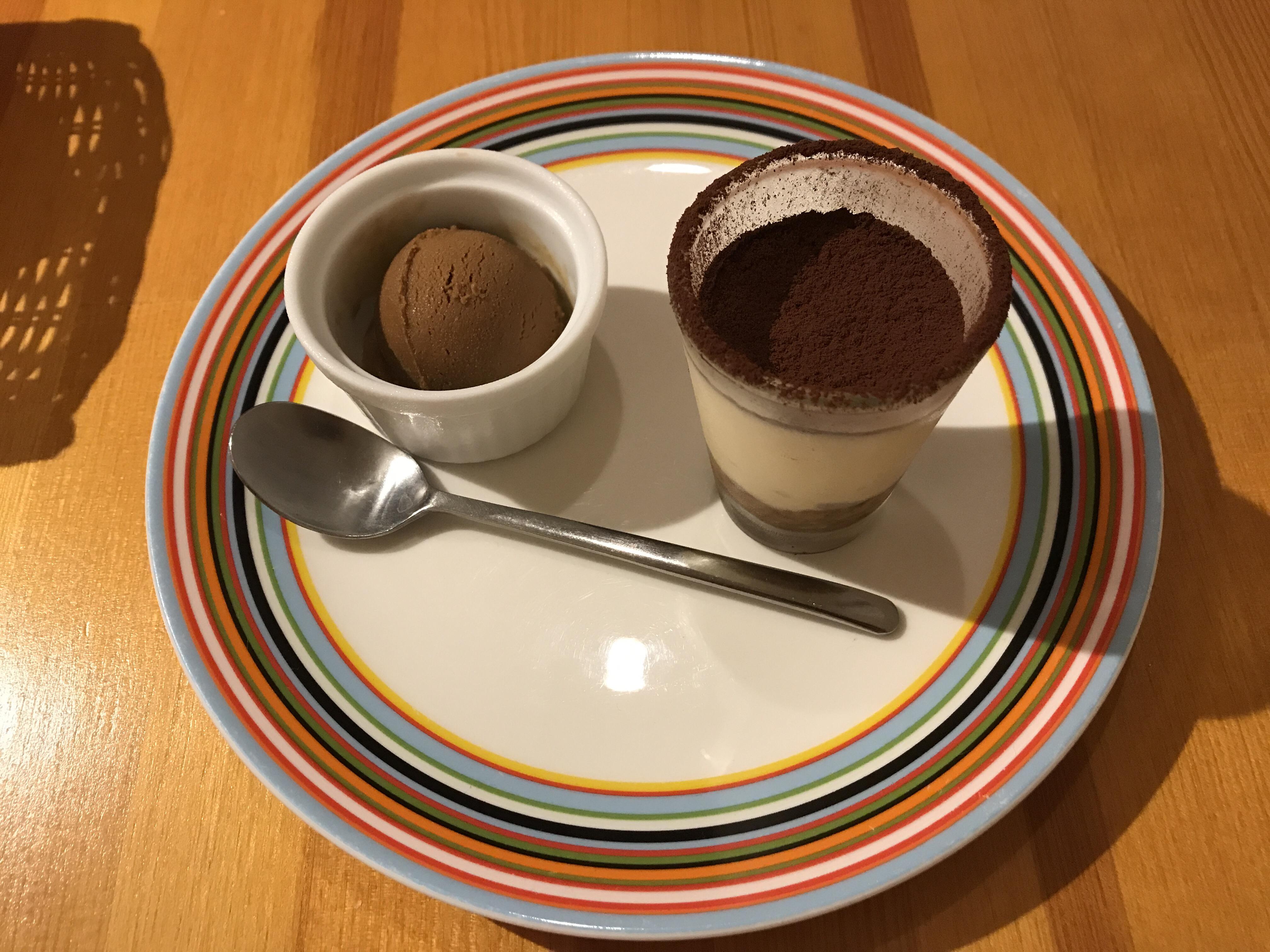 ポチロン デザート アイス ティラミス