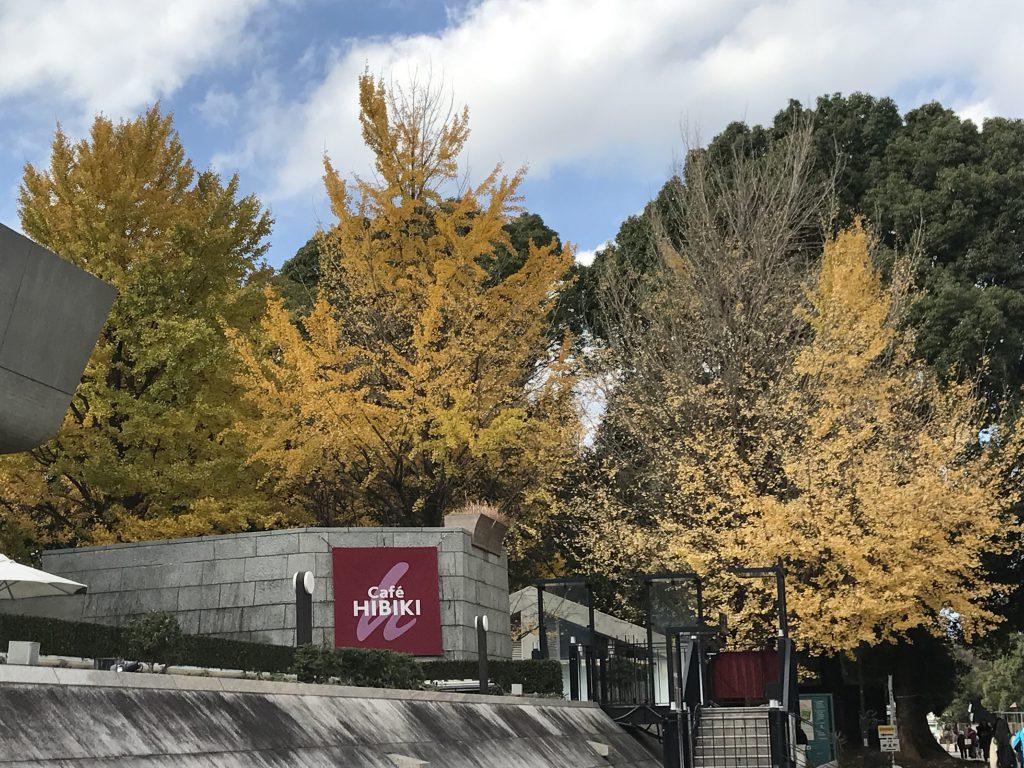 上野公園 紅葉